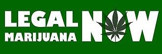 Legal Marijuana Now Party - Image: Legal Marijuana Now