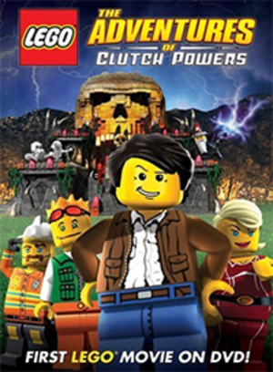 Lego: The Adventures of Clutch Powers - DVD Cover