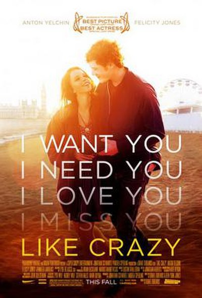Picture of a movie: Like Crazy