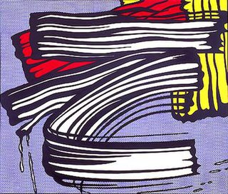 <i>Little Big Painting</i> painting by Roy Lichtenstein