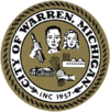 Official seal of Warren, Michigan