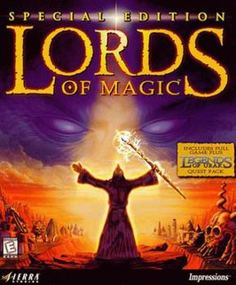 <i>Lords of Magic</i> 1997 video game