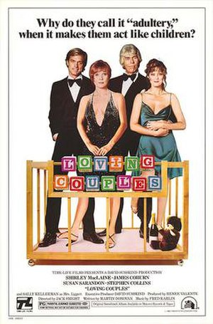 Loving Couples (1980 film) - Promotional film poster
