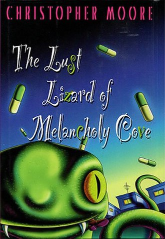 The Lust Lizard of Melancholy Cove - Cover of American paperback (Perennial)