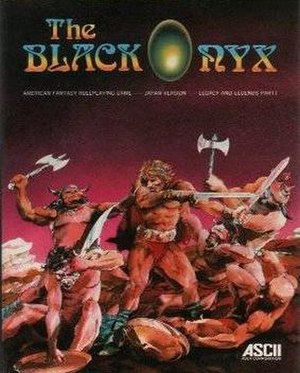 The Black Onyx - Image: MSX Black Onyx front