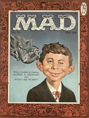 Alfred E. Neuman - Neuman on Mad 30