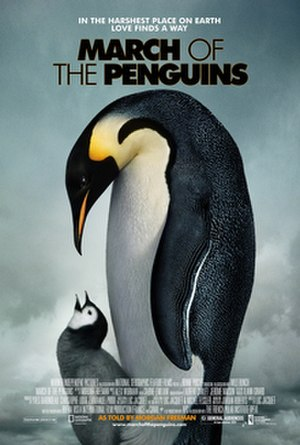 March of the Penguins - North American release poster