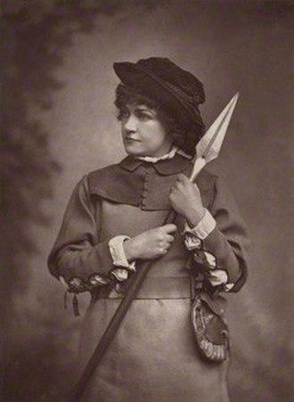 Marie Litton - Marie Litton as Rosalind in As You Like It, 1880