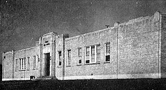 Aldine High School - Marrs High School circa 1939