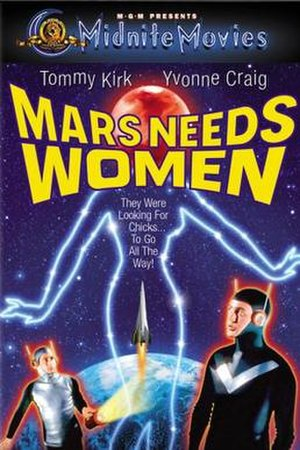 Mars Needs Women - Image: Mars Needs Women Film Poster
