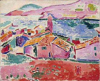Les toits de Collioure - Image: Matisse View of Collioure (1905)