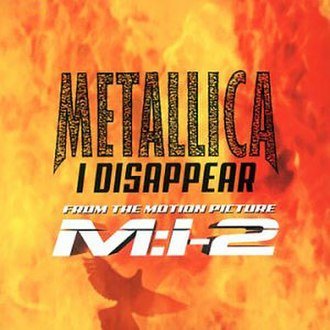 I Disappear - Image: Metallica I Disappear cover