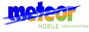 Meteor (mobile network) - Logo used by the Meteor Consortium in bidding for the third GSM license in 1998/99