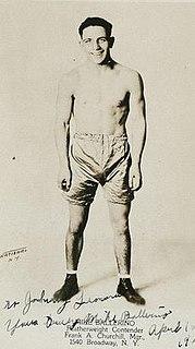 Mike Ballerino American boxer (1901-1965)