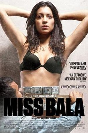 Miss Bala - Cinematic release poster