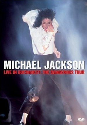 Dangerous World Tour - The DVD cover from the concert taken place at Bucharest, Romania.