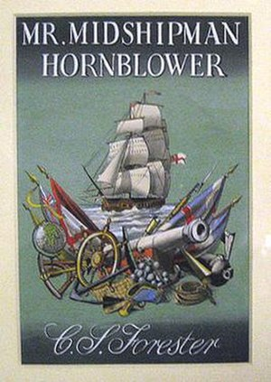 Mr. Midshipman Hornblower - First edition cover