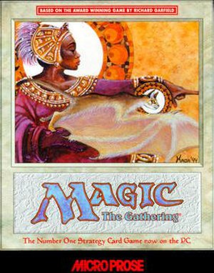 Magic: The Gathering (1997 video game) - Image: Mt G PC Micro Prose 97