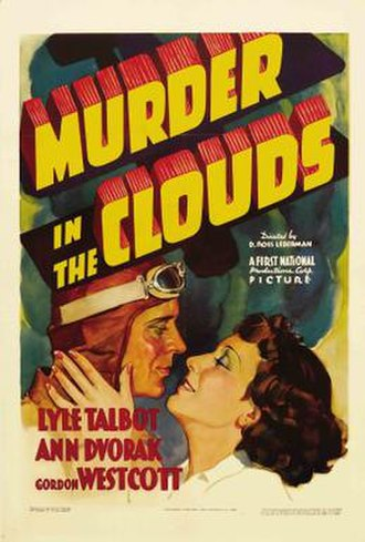 Murder in the Clouds - Theatrical poster