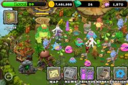 my singing monsters plant island scene