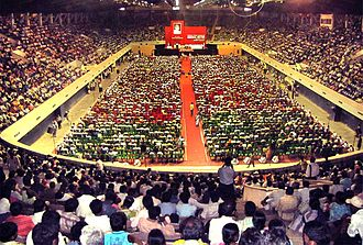 Socialist Unity Centre of India (Communist) - Nihar Mukherjee Memorial Meeting held in Netaji Indoor Stadium in Kolkata on 3 March 2010