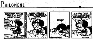 Nancy (comic strip) - The French version of Nancy from January 16, 2006