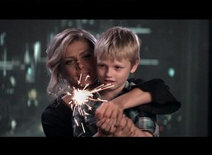 "Someday Soon (Natalie Bassingthwaighte song) - Bassingthwaighte with nephew Logan in the ""Someday Soon"" music video."
