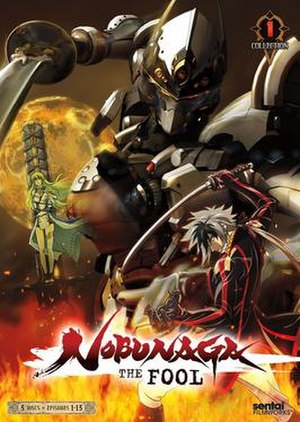 Nobunaga the Fool - Cover of the first DVD collection released by Sentai Filmworks