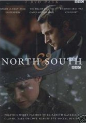 North & South (TV serial) - British DVD cover