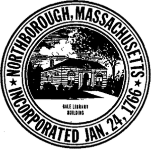 Northborough, Massachusetts - Image: Northboro MA seal