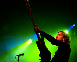 The Stills bassist Olivier Corbeil in Ottawa, 2007