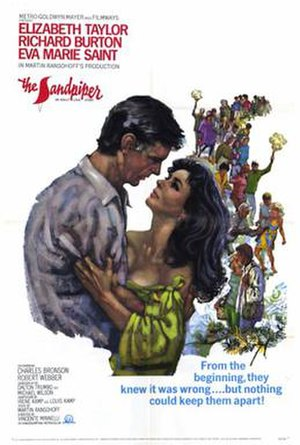 The Sandpiper - Theatrical release poster by Howard Terpning