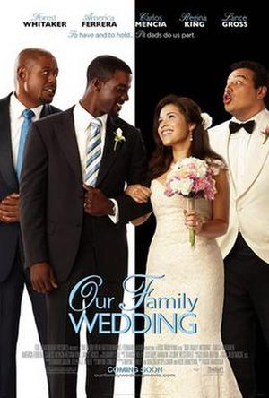 Our Family Wedding - Theatrical release poster