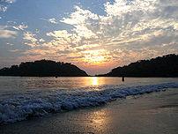 Goa beach-Sunset on Palolem beach, Goa, India- travel guide