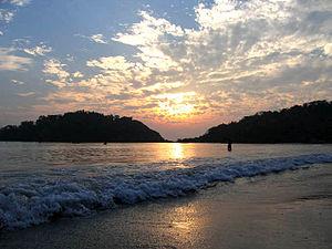 Palolem Beach - Sunset at Palolem