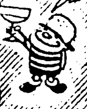 Paul Rigby - Rigby's trademark urchin