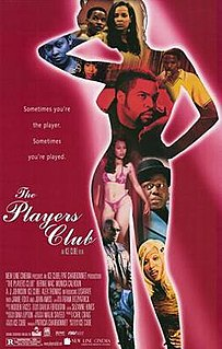 <i>The Players Club</i> 1998 film directed by Ice Cube