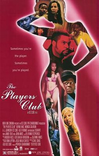 The Players Club - Theatrical release poster
