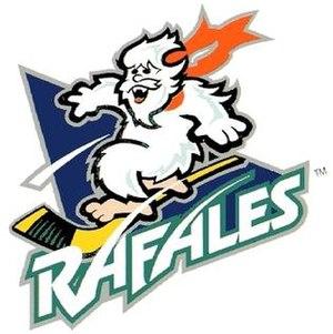 Atlanta Knights - Quebec Rafales logo (1996-98).