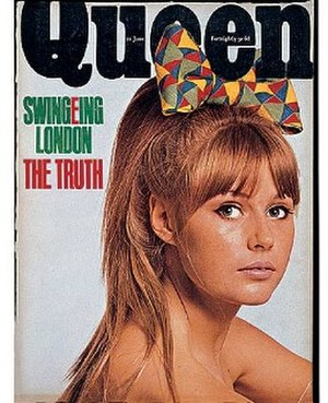 Queen (magazine) - Image: Queen (magazine) cover