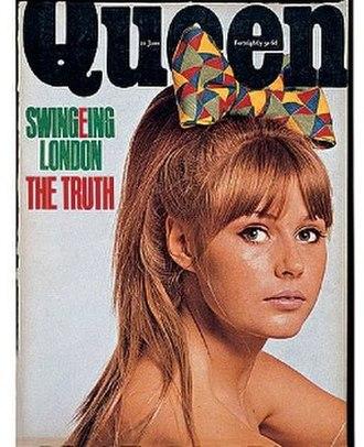 Queen (magazine) - Image: Queen (magazine) cover