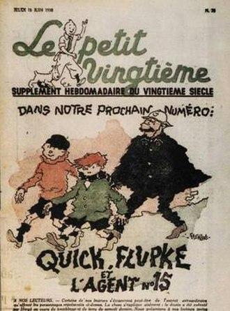 Quick & Flupke - Image: Quick et Flupke in Petit Vingtieme