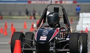Rutgers Formula Racing - RFR11 at FSAE California 2011 Endurance Event