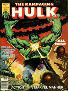 <i>The Rampaging Hulk</i>