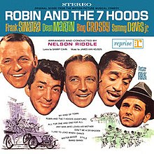 Robin and the 7 Hoods (Rat Pack soundtrack album) cover.jpg