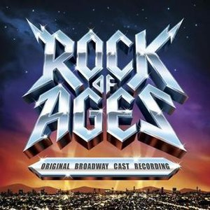 Rock of Ages (musical) - Cover Art for the cast recording
