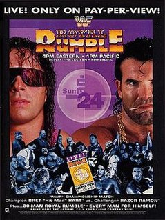 Royal Rumble (1993) 1993 World Wrestling Federation pay-per-view event