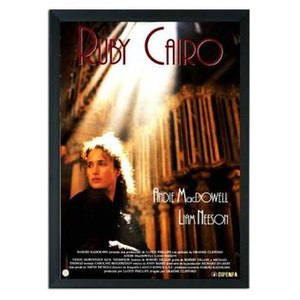 Ruby Cairo - Theatrical movie poster