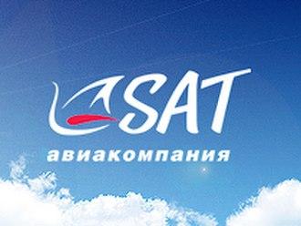 SAT Airlines - Image: SAT (Airlines) logo