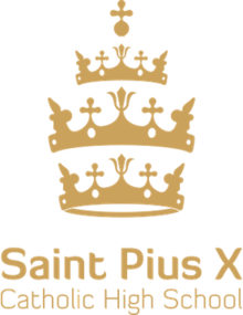 Saint Pius X Catholic High School logo.png